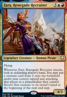 Commander Legends: Zara, Renegade Recruiter