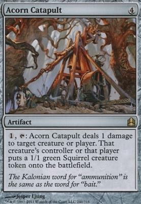 Commander: Acorn Catapult