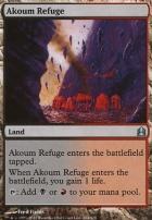 Commander: Akoum Refuge