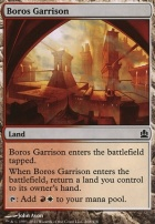 Commander: Boros Garrison