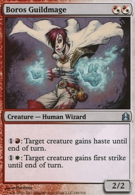 Commander: Boros Guildmage