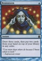 Commander: Brainstorm