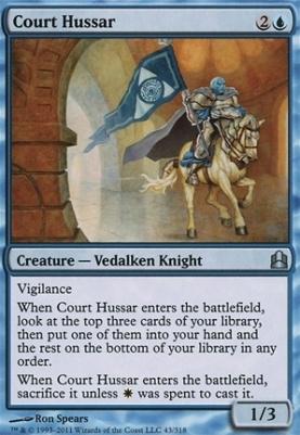 Commander: Court Hussar