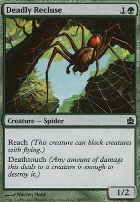 Commander: Deadly Recluse