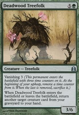 Commander: Deadwood Treefolk