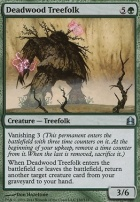 Commander: Deadwood Treefolk