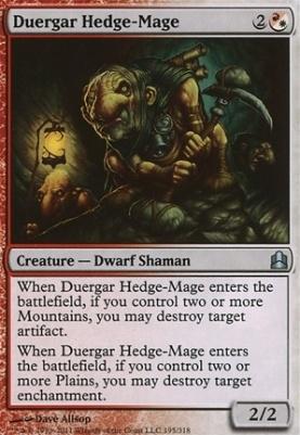 Commander: Duergar Hedge-Mage