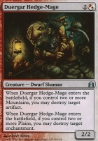 Commander: Duergar Hedge-Mage