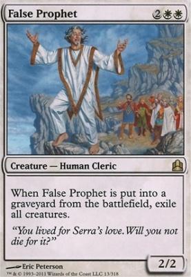 Commander: False Prophet