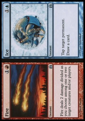 Commander: Fire // Ice