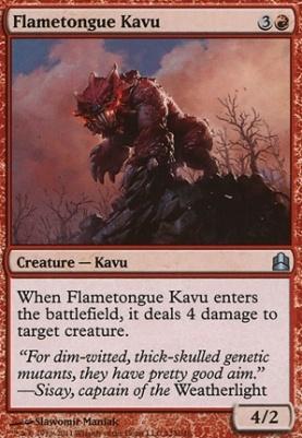 Commander: Flametongue Kavu
