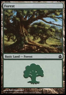 Commander: Forest (315 A)