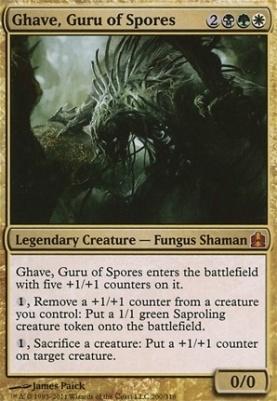 Commander: Ghave, Guru of Spores