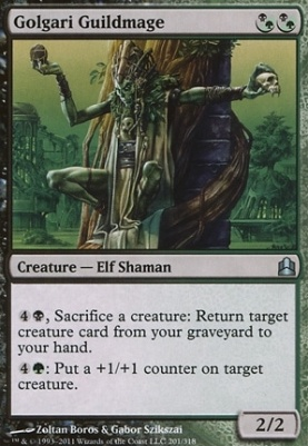Commander: Golgari Guildmage