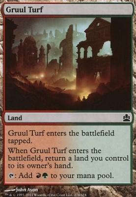 Commander: Gruul Turf