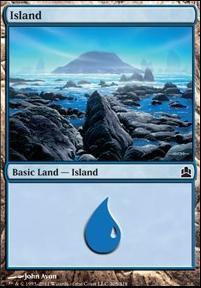 Commander: Island (305 C)