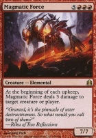 Commander: Magmatic Force