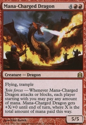 Commander: Mana-Charged Dragon