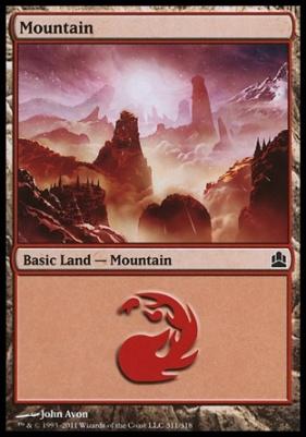Commander: Mountain (311 A)