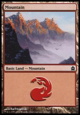 Commander: Mountain (313 C)