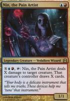 Commander: Nin, the Pain Artist