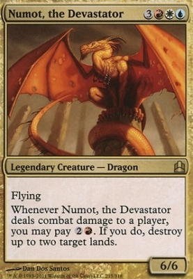 Commander: Numot, the Devastator