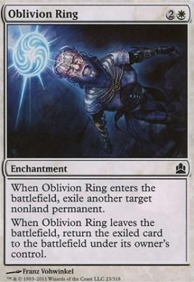 Commander: Oblivion Ring