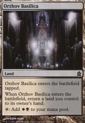 Commander: Orzhov Basilica