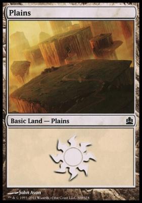 Commander: Plains (300 B)