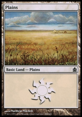 Commander: Plains (302 D)