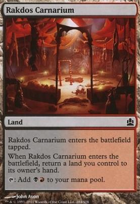 Magic The Gathering Shop | Commander | Rakdos Carnarium