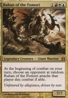 Commander: Ruhan of the Fomori