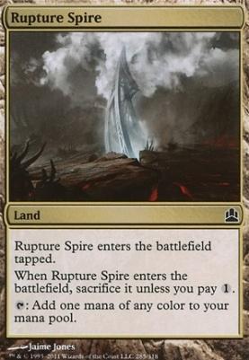 Commander: Rupture Spire