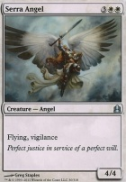 Commander: Serra Angel