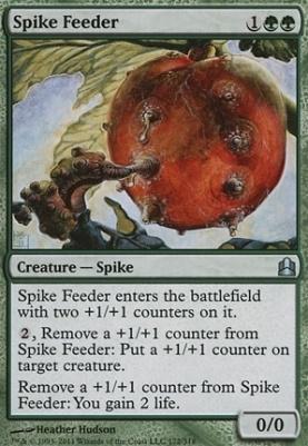 Commander: Spike Feeder