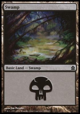 Commander: Swamp (309 C)