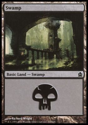 Commander: Swamp (310 D)