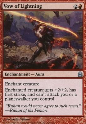 Commander: Vow of Lightning