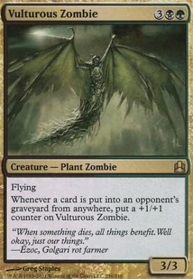 Commander: Vulturous Zombie