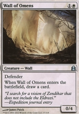 Commander: Wall of Omens