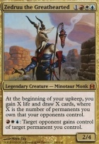 Commander: Zedruu the Greathearted (Oversized Foil)