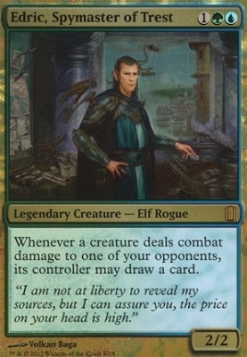 Commander's Arsenal: Edric, Spymaster of Trest (Foil)