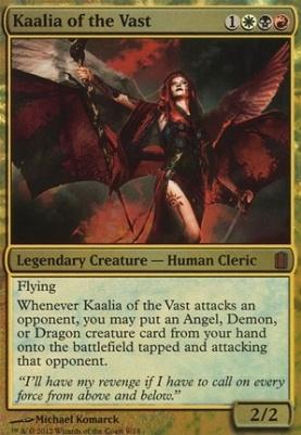 Commander's Arsenal: Kaalia of the Vast (Foil)