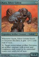 Commander's Arsenal: Karn, Silver Golem (Oversized Foil)