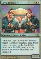 Commander's Arsenal: Loyal Retainers (Foil)