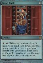 Commander's Arsenal: Scroll Rack (Foil)