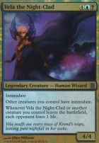 Commander's Arsenal: Vela the Night-Clad (Foil)