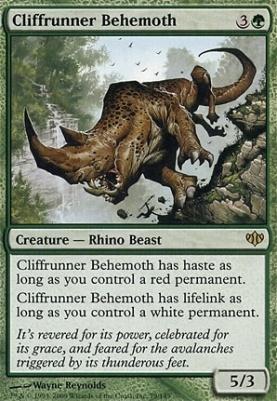 Conflux Foil: Cliffrunner Behemoth