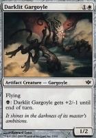 Conflux Foil: Darklit Gargoyle