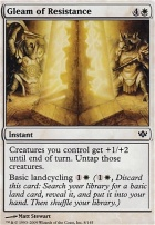 Conflux Foil: Gleam of Resistance